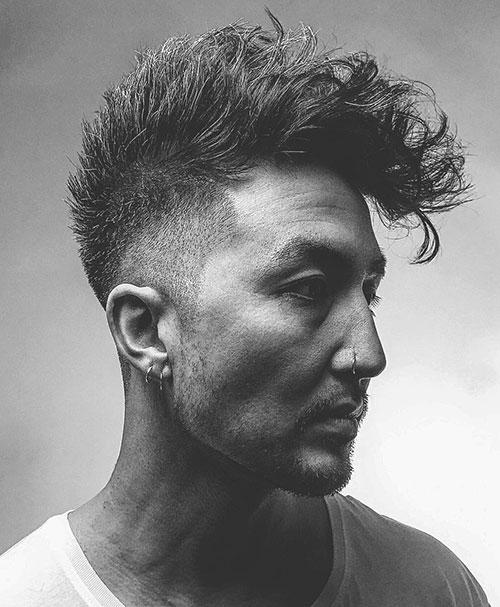 mohawk fade haircut 45