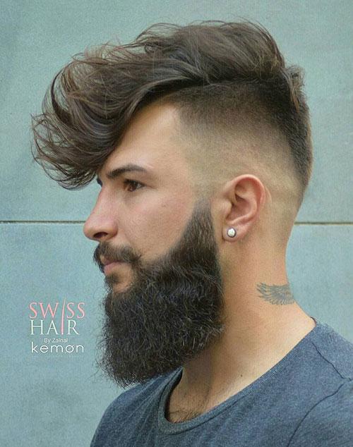 mohawk fade haircut 59