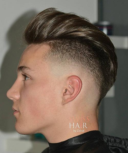 mohawk fade haircut 61