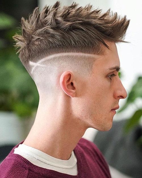 mohawk fade haircut 62