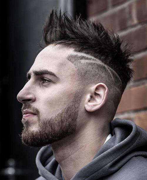 mohawk fade haircut 64