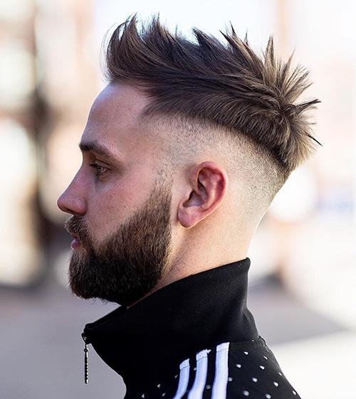 mohawk fade haircut 66