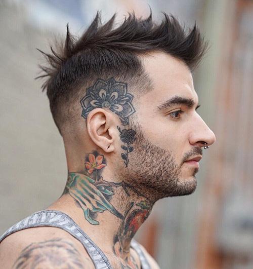 mohawk fade haircut 67