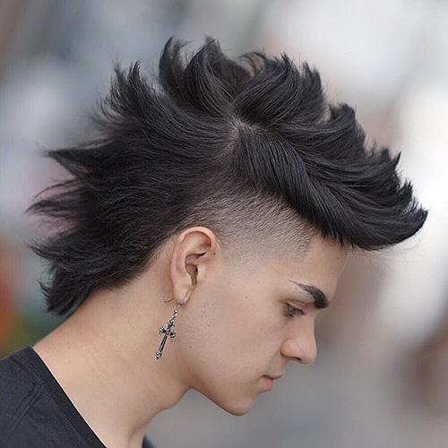 mohawk fade haircut 69