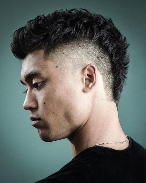 mohawk fade haircut 9